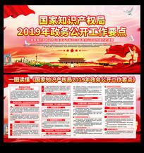 国家知识产权局2019年政务公开工作展板