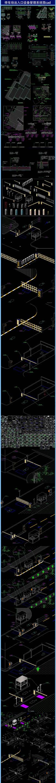 停车场出入口设备管理系统图cad