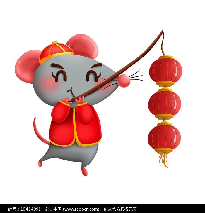 原创元素新年小老鼠 图片