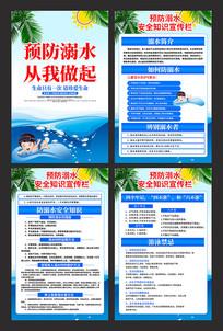 预防溺水安全知识宣传栏