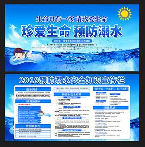 预防溺水安全知识展板