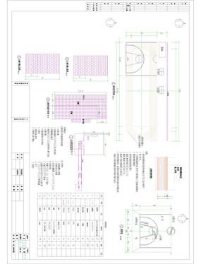 运动场厕所施工平面图