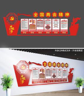 2018两会党建文化墙
