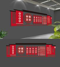 中国风中式中医文化墙设计