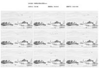 中国山水水墨风动态视频素材