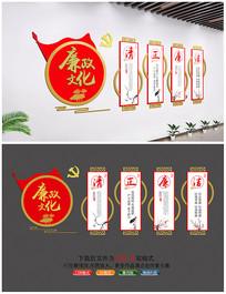 新中式廉洁文化墙设计