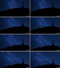 仰望星空梦幻LED舞台背景视频素材