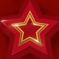 原创元素红星背景