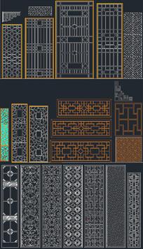 CAD花格系列