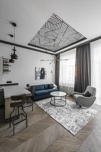 简单工业客厅