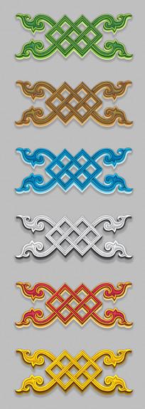 蒙古图案设计