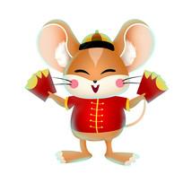 鼠年卡通人物