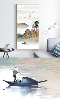 新中式水墨风景装饰画