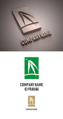 竹子标志LOGO设计