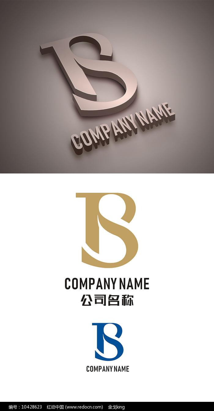 条幅B字体LOGO设计标志字母免费设计图片