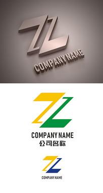 字母Z标志LOGO设计