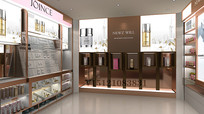 上海化妆品店设计丨卓皙效果图 JPG