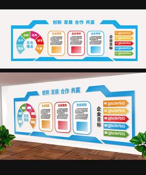 特色企业公司走廊文化墙