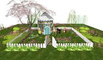 儿童花园小木屋