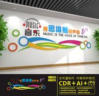 音乐室培训室教室练歌厅文化墙
