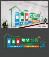 创意垃圾分类文化墙设计