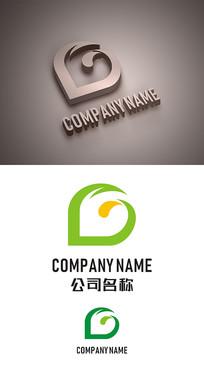 G字母标志LOGO设计