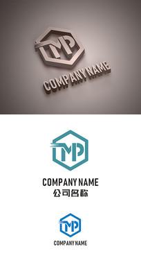 MP标志LOGO设计