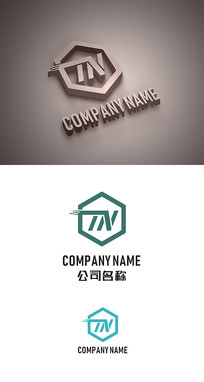 TN字母标志TN字母LOGO设计