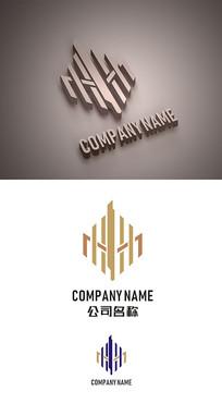 建筑房地产标志LOGO设计 CDR