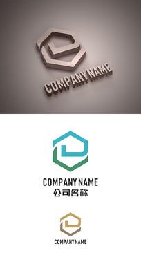 房产中介房地产标志LOGO设计 CDR