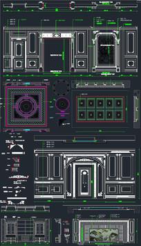 全屋定制模块CAD