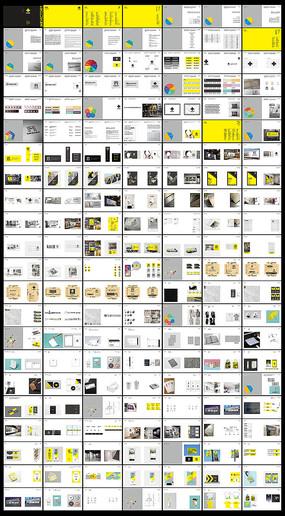 国际轻奢企业整套VIS设计模板