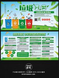 垃圾分类绿色环保宣传栏