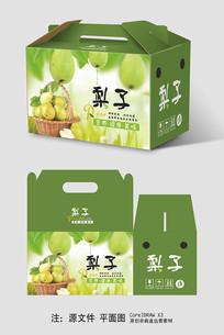梨子手提礼盒包装