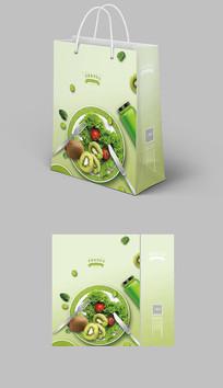 绿色蔬菜生态食品手提袋