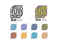 漫度民宿logo AI