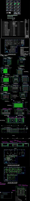 CAD商场品牌家具卖场整套施工图