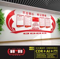 红色党建制度文化墙