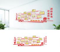 企业团队政府机关荣誉墙设计
