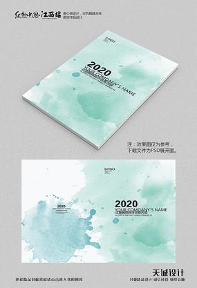 中国风水墨画册封面 PSD