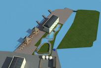 中式民房3D模型