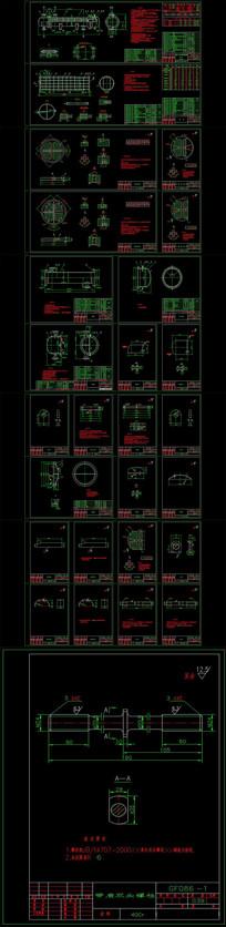 CAD换热器图库图纸