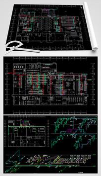 CAD全套给水系统平面设计图