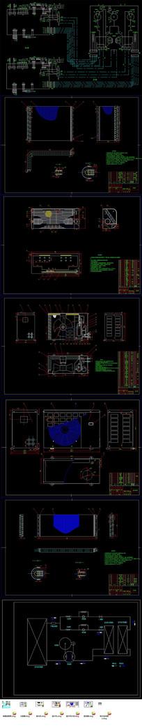 变频空调全套CAD设计方案