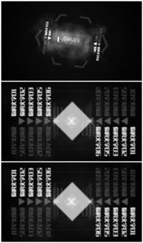 简约大气文字标题LOGO视频模板