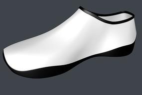 三维鞋子建模模型3d效果C4D鞋模