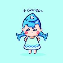 双鱼星座卡通表情