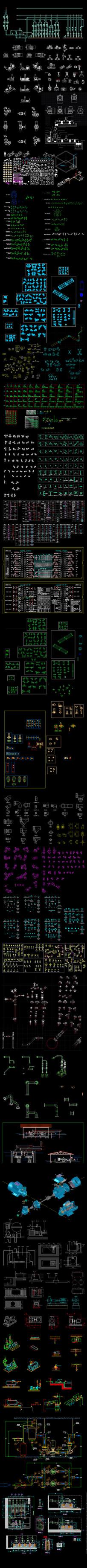 水利机电CAD图纸集合
