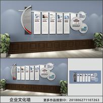 简约企业文化宣传展示墙