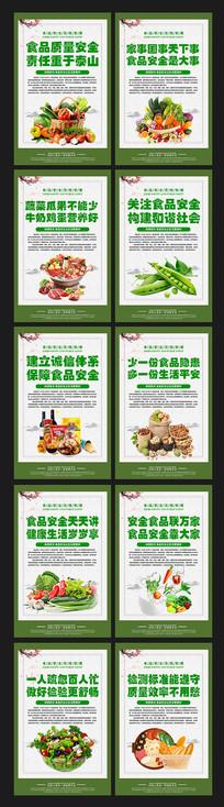 食品安全宣傳展板設計